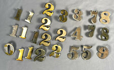 24 Vintage Room, Door Numbers ~ Salvaged from a 23 Room Maine Beach Inn