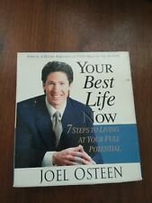 Joel Osteen 5 CDs Your Best Life Now 7 Steps To Living At Your Full Potential