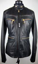 Just Cavalli giacca Pelle Lady Jacket señora chaqueta de cuero talla 36 nuevo con etiqueta