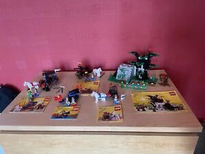 Lego Castle Job Lot Vintage 6066 6042 Forestmen