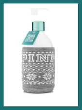 PINK BY VICTORIA'S SECRET BODY LOTION JUST SAY SNOW LIMITED EDITION + KNIT CUTE