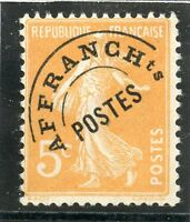 STAMP / TIMBRE FRANCE PREOBLITERE  N° 50 NEUF SANS GOMME