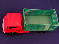 CRAGSTAN Vintage Toy Dump Truck Hard Soft Plastic 1960s Hong Kong car  Friction