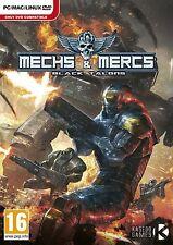 Mechs and Mercs: Black Talons (PC DVD) BRAND NEW SEALED