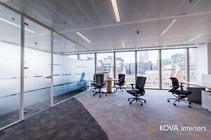 Office Glass Wall in London