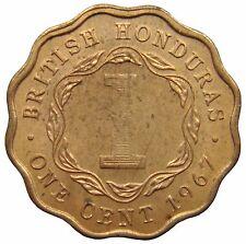 (c82) - Honduras britannico British Honduras - 1 cent 1967-au-km # 30