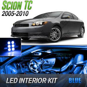 2005-2010 Scion tC Blue LED Lights Interior Kit