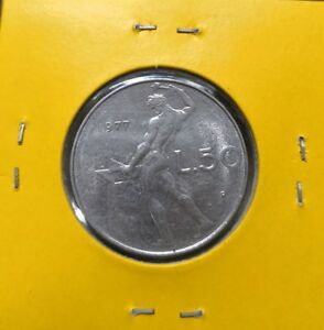 1977 - ITALY L.50 (STAINLESS STEEL)
