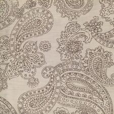 ❤️ TARGET HOME Gray Paisley Floral Fabric Shower Curtain