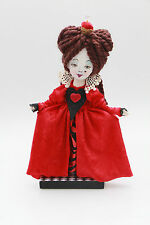 "Handmade Art Fantasy Doll Queen From An ""Alice In Wonderland"" Theme OOAK"