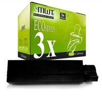 3x MWT Eco Toner XXL Per OKI B-431-D