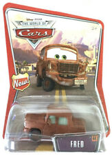 DISNEY PIXAR CARS 1 2 3 DIECAST 1:55 - FRED #44 - 1ST EDITION! NEW LOGO ON LEFT!