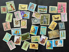 Latin America Arqueology Lot of over 30+ stamps, used/some hinged/unsearched
