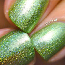 Polish Me Silly Grassy But Classy Holographic Nail Polish Indie Polish