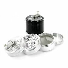 50mm MillGrinder 4part Magnetised Anodized Aluminium Pollinator Metal Herb Spice