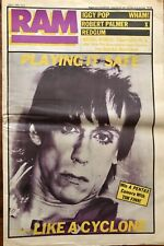 RAM MAGAZINEIGGY POP COVER Issue 214 July 8 1983 VGC. All pages intact.