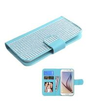 MyBat Wallet Case for Apple iPhone 6, ASUS PadFone X & Other Smartphones, Blue
