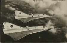 Postcard 1422 - Aircraft/Aviation Real Photo Saab 35 Draken