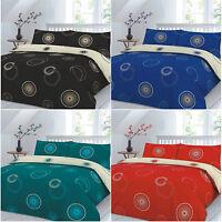 Eden Reversible Duvet Cover or Complete Quilt Pillowcases Double King Super