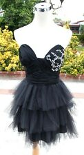 NWT A.B.S.by Allen Schwartz $200 BLACK Prom Dress 10