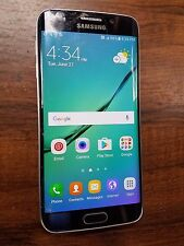 Samsung Galaxy S6 Edge SM-G925T (Unlocked) 32GB Black T-mobile - SCREEN ISSUES