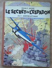 Blake et Mortimer Le Secret de l'Espadon T 2 E P JACOBS éd Dargaud 1957 + point