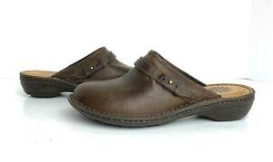 Ugg 1008151 Bridgen Leather Mules Brown 7 New