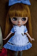 Nouvelle arrivée Blythe Robe azone dress PULLIP DRESS 1/6 Doll Outfit (4 Pcs)