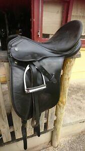Kieffer Black Dressage Saddle