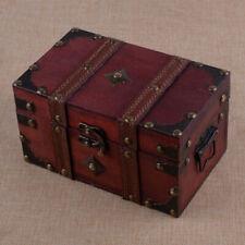 Vintag Schmuckkasten Aufbewahrungsbox Geldgeschenk Hochzeit Schmuckbox Holz
