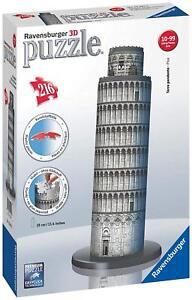 Ravensburger - 12557 - Torre di Pisa - Puzzle 3D Building