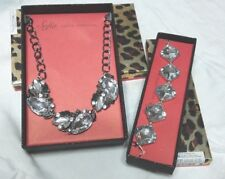 Sofia Vergara 18 inch chunky necklace and 9 inch matching bracelet