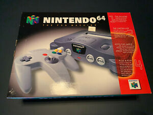 Nintendo 64 Game System NTSC N64 Console Brand New