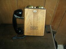 Northern Electric wall phone works