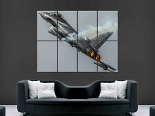 EUROFIGHTER JET PLANE  LARGE ART GIANT POSTER PRINT IMAGE HUGE