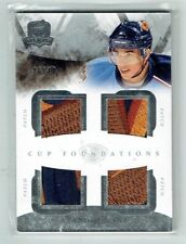 10-11 UD Upper Deck The Cup Foundations  Evander Kane  /10  Quad Patches