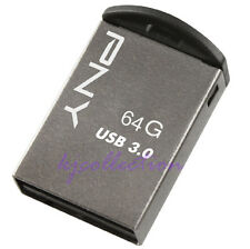 PNY M3 64GB 64G USB 3.0 Flash Pen Drive Memory Micro Metal Super Nano Mini Tiny
