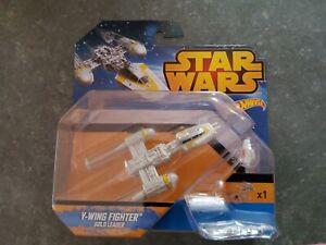 Hot wheels star wars y-wing fighter golden leader