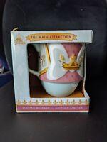 Disney Minnie Mouse Main Attraction Mug King Arthur Carousel July! in hand