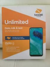 Motorola Moto G Fast - 32GB - Pearl White (BOOST MOBILE) Free 1st Month &2GIFTS