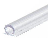"CRL SDTB-XCP5 CRL Translucent Vinyl Bulb Seal 7/32"" Gap - pack of 5"