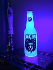 MLS DC United Soccer 12 oz Beer Bottle Light LED Bar Man Cave