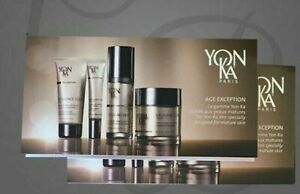 6X YONKA EXCELLENCE CODE CREME- MASQUE /CONTOURS/CELLULAR TRAVEL SETS TOTAL 24ML