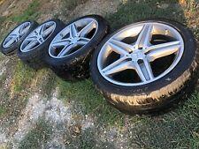 """2003-2009 Mercedes-Benz W211 Genuine E63 AMG 18"""" wheels Rim E55 E550 E350 E320"""