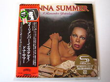 "Donna Summer ""I remember yesterday"" Le Japon MINI LP CD"