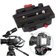 NEW Camera Quick Release Adapter System With Slide Plate for Tripod Ball Head