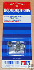 Tamiya 53056 Pin Type Wheel Adapter (TA01/TA02/TA03/TT01/TT02/TL01/M05/M07), NIP