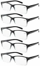 92f204e4844 Spring Hinges Vintage Reading Glasses 5-pack Men