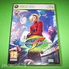 THE KING OF FIGHTERS XII NUEVO PRECINTADO PAL ESPAÑA XBOX 360