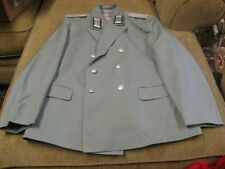East German BORDER GUARD Officers Parade Dress Uniform Jacket K-52-2